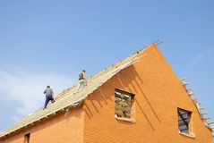 крыша Стоковое Изображение RF