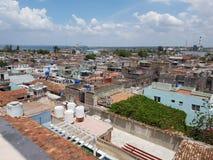 Крыша cienfuegos стоковая фотография rf