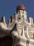 крыша gaudi Стоковая Фотография