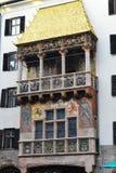Крыша Goldenes Dachl золотая Стоковое Изображение RF