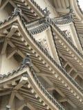 крыша himeji японии детали замока Стоковое Фото