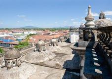 крыша leon собора Стоковые Фото