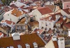 крыша lisbon Стоковое Изображение