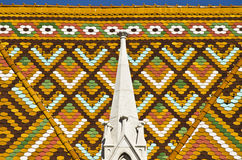 Крыша Mattrias-Церков Стоковое Изображение