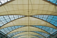 крыша munich авиапорта Стоковые Изображения