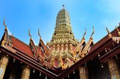 Крыша Wat Phra Kaew Стоковые Изображения RF