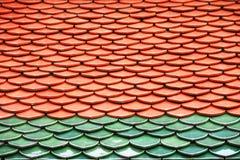 Крыша Wat Phra Keaw стоковые фотографии rf