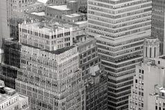 крыша york города новая своеобразная Стоковое Изображение RF