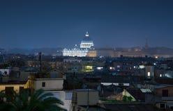 Крыши базилики Рима и St Peter стоковые фото