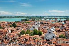 Крыши Венеции Стоковое Изображение RF