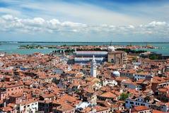 Крыши Венеции Стоковая Фотография RF
