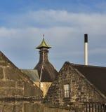 Крыши винокурни мурены. Стоковое Фото