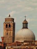 Крыши в Венеции Стоковые Изображения RF