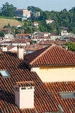 Крыши в Виченца Стоковые Изображения