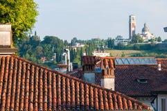 Крыши в Виченца Стоковая Фотография