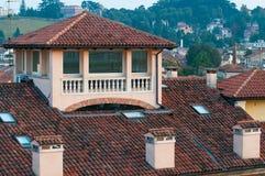Крыши в Виченца Стоковое Изображение