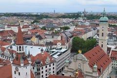 Крыши в Мюнхене Стоковая Фотография RF