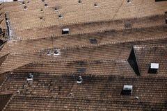 Крыши в Порту Стоковые Фото