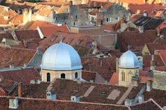 Крыши в Brasov Стоковые Фото
