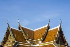 Крыши в Wat-phra-kaew Стоковые Фотографии RF
