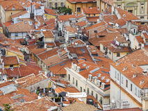 Крыши города славного Стоковые Фото