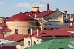 Крыши города. Стоковое Изображение