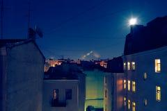 Крыши города Стоковая Фотография RF