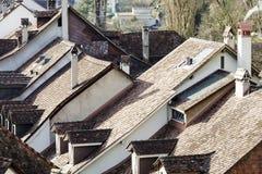 Крыши города Bern Стоковые Фото