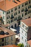 Крыши города Kotor Стоковые Фото