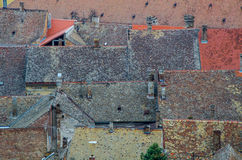 Крыши деревни, Petrovaradin Стоковые Фото