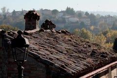 крыши итальянки осени Стоковое Изображение RF