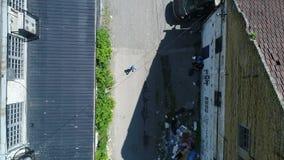 Крыши китайского квартала видеоматериал