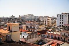 крыши Кубы havana стоковое изображение rf