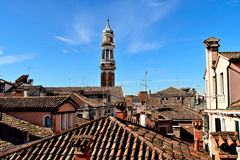 Крыши плитки Венеции Стоковые Изображения