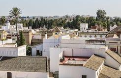 Крыши Севильи стоковые изображения