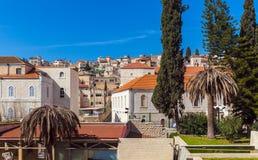 Крыши старого города в Назарете стоковое фото rf