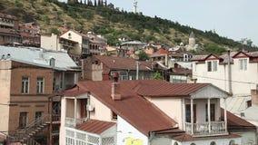 Крыши старого Тбилиси, Georgia видеоматериал