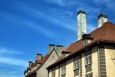 Крыши старой Риги Стоковая Фотография RF