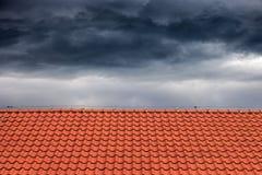 Крыши для защиты против дождя стоковая фотография rf