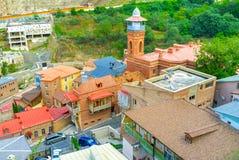 Крыши Abanotubani Стоковое Изображение RF