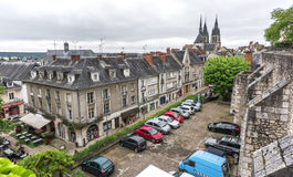 Крыши Blois Стоковое Изображение RF