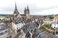 Крыши Blois Стоковое Фото