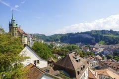 Крыши Fribourg Стоковое Изображение