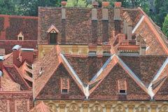 Крыши Grax, Австрия Стоковые Фотографии RF