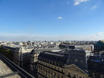 Крыши iin Франции Парижа Стоковые Фотографии RF