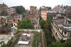 крыши kathmandu стоковая фотография