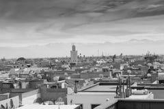крыши marrakech Стоковые Фото
