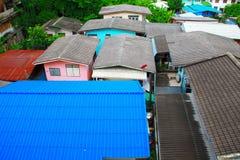 Крыши Muticolor Стоковое фото RF