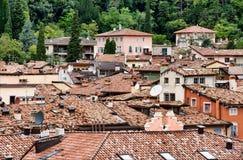 крыши riva del garda Стоковое фото RF