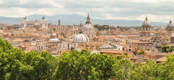 Крыши Roma стоковое изображение